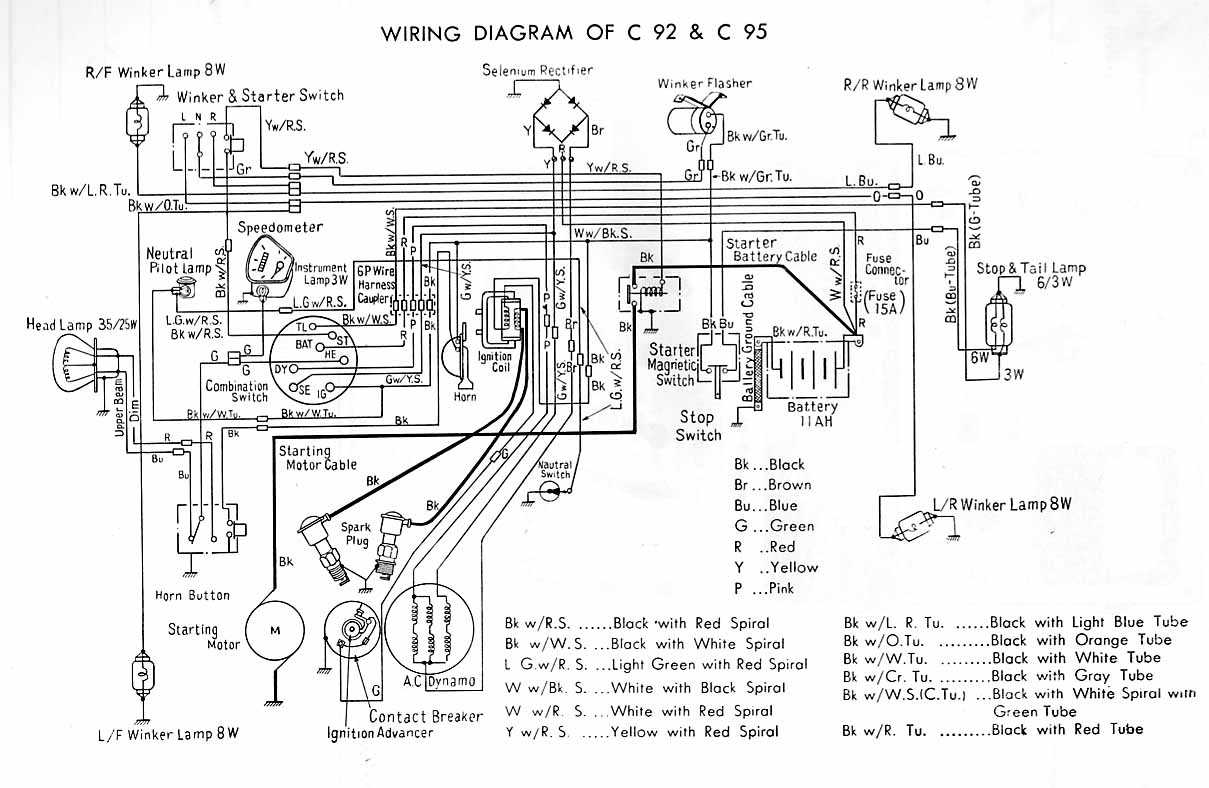 Snap Honda C100 Wiring Diagram 25 Images Diagrams Kreativmindco