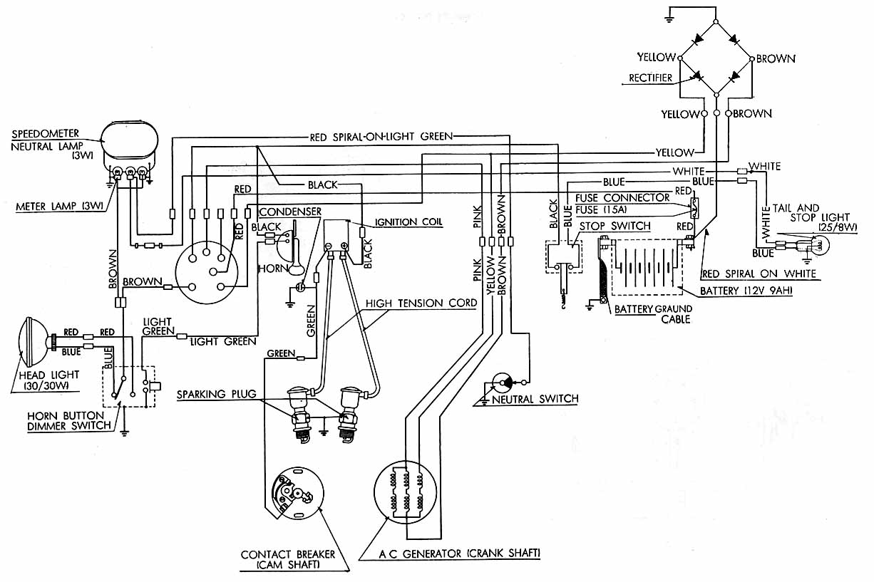 Honda Ct70 Wiring Expert Diagram 1976 Dodge Truck Harness For 1970 Get Free Image About Points 1982